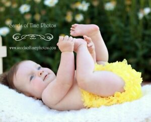 USA MADE Lace Ruffle Toddler Bloomer Diaper Cover 18 Colors Chic Baby Rose SALE