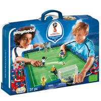 Playmobil Stade de foot transportable FIFA Russie 2018