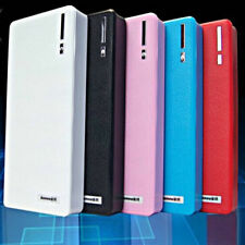 10000mah Power Bank LED 2 USB External Battery Charger