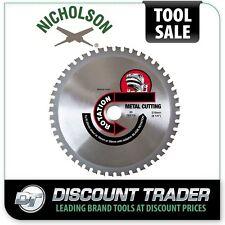 """Nicholson Premium Quality Metal Cutting Blade 20 Teeth 5"""" 125mm - NMG5"""
