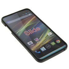 Case for Wiko Slide Cell Phone Pocket Cases TPU Rubber Black