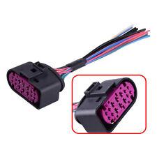 Xenon HID Pigtail Plug Headlight 14pin Connector fit for Audi Q7 TT 1J0973737