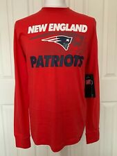 New England Patriots T-Shirt long sleeve NFL 47 BRAND American Football NEW