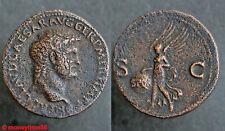 Romaine  très joli as de NERON revers à la Victoire ailée SPQR SC