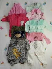 Baby Girl 6-12 M Pajama Clothes Lot 12 Piece Outfits Carter's Little Me Disney..
