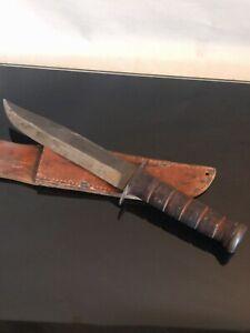 Vintage KABAR commando Knife, Olean, NY