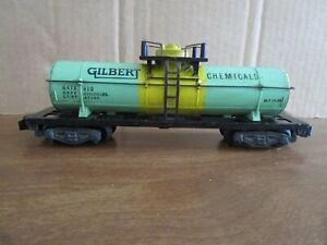 American Flyer, S Gauge, 910, Gilbert Chemical Tank Car, OB