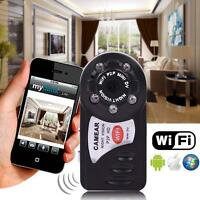 WIFI Mini DV IP Wireless Spy Cam Night Vision Camera Security For Android IOS UP