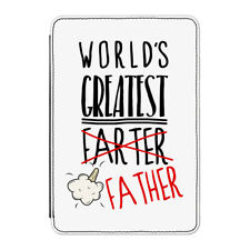"""World's Greatest Farter Father Case Cover for Kindle 6"""" E-reader - Fathers Day"""