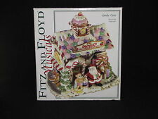 Fitz & Floyd Musicals Candy Land Santa's Railroad Station Music Box Jingle Bells