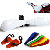 """7/8"""" 1 1/8"""" PP Orange Red Blue Hand Guards Handguards For Dirt Bike Motorcycle"""
