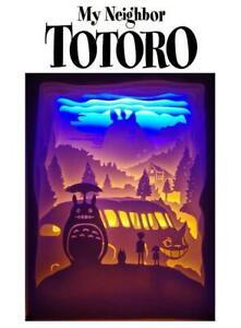 My Neighbor Totoro LED USB Light Framed Box Scene Anime Night 3D Sculpture 11