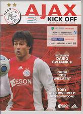 Programme / Programma Ajax v SC Heerenveen 31-01-2009 & v Heracles 03-02-2009
