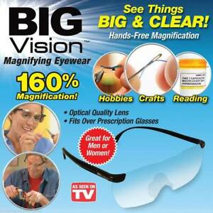 BIG VISION GLASSES 160% Magnification