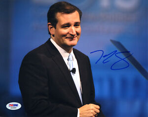 TED CRUZ SIGNED AUTOGRAPHED 8x10 PHOTO 2016 PRESIDENTIAL CANDIDATE PSA/DNA