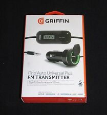 Griffin iTrip Auto Universal Plus-FM Transmitter & Car Charger P/N: NA22046-2