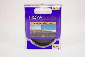 Hoya PL-CIR Polarizing Filter 52mm with case