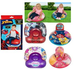 Princess Spiderman,Paw Patrol Shimmer and Shine Inflatable Float Large Chair 3+y