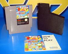 Videojuego NES nintendo PUZZNIC - 1985 - TAITO con instrucciones