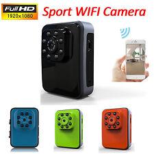 1080P Hd Mini Wifi Spy Hidden Camera P2P Action Sports Camcorder Ir Night Mini D