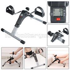 Digital Pedal Exerciser Arm/Leg Folding Mini Exercise Workout Bike Mobility Aid