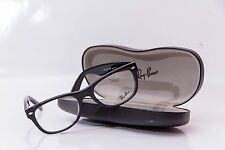 Authentic Ray Ban RB5184F 2000 Shiny Black Eyeglasses Rx-Able Frame 52MM