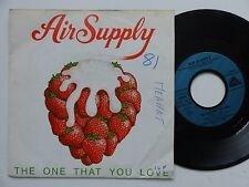 AIR SUPPLY The one that you love 103219 FRANCE