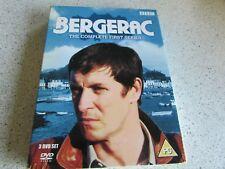 **LOOK** Bergerac - Series 1 - Complete (DVD, 2006, 3-Disc Set) John Nettles