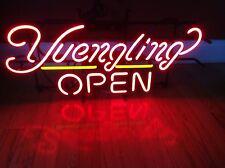 "New Yuengling Open Beer Neon Light Sign  20""x16"""