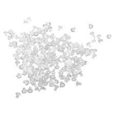 200 PZ FARFALLINE CHIUSURE PLASTICA PER ORECCHINI MM 5 A7O3