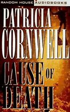 Kay Scarpetta: Cause of Death by Patricia Cornwell (1996, Cassette) like new