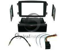 MERCEDES BENZ C-CLASS 2001-2004 SD Radio Stereo Installation Dash Kit Combo