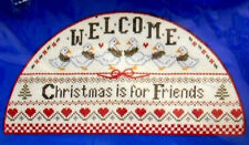 Dimensions Counted Cross Stitch Christmas Welcome Christmas Is for Friends