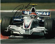 Robert Kubica Hand Signed BMW Sauber Photo 10x8.