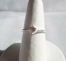 A 0.34 Carat Diamond Solitaire Ring