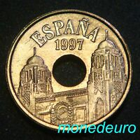 ESPAÑA 1997.  25 PESETAS SIN CIRCULAR. MELILLA