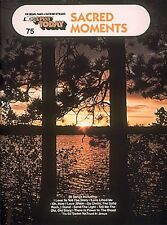 Sacred Moments Sheet Music E-Z Play Today Book NEW 000100568