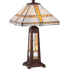 Brown Wood Lamps Quoizel SaleEbay For 6vIYbf7gy