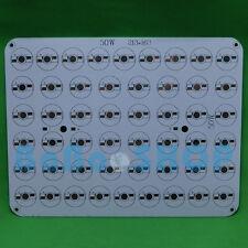 50W Aluminum PCB 213x163mm for High Power LED Spotlights Lamp 50x1W 50x3W 50x5W