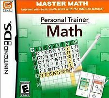 Personal Trainer: Math (Nintendo DS, 2009 NDS LITE