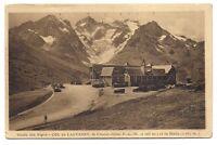 route des alpes col du lautaret  ,le chalet-hotel et la meije