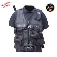 Gilet Tactique Opex Avec Holster PA ou Taser Police Gendarmerie