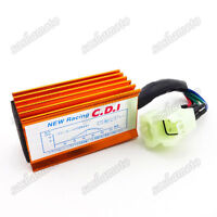 Scooter 6 Pin AC Ignition CDI Box For GY6 50cc 125 150 cc Moped ATV Quad Go Kart