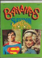 ORIGINAL Vintage 1979 Bananas Magazine Superman Kiss w/ Gene Simmons Poster
