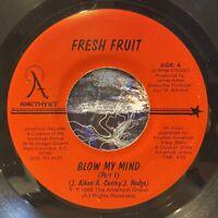 "electro funk boogie 7"" FRESH FRUIT Blow My Face ♫ Mp3 Modern Soul AMETHYST 1988"