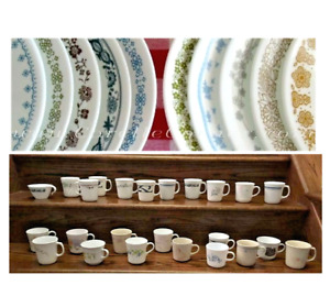 Vintage Corelle Add-On / Replacement Dinnerware (See Pattern Selections)