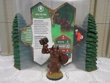 Heroscape Custom Rog the Red Double Sided Card & Figure w/ Sleeve Ullar