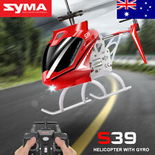 Syma S39 RC Helicopter with GYRO Toy Remote Control Helicopters 2.4G 3CH-Red