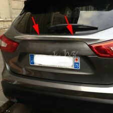 For 2014-2020 Nissan Rogue Sport Qashqai Chrome Trunk Tailgate Molding Trims