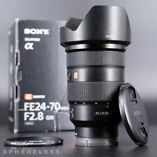 SONY FE 24-70 mm f2.8 GM (G-Master) objectif zoom + HOYA Filtre SEL2470GM * Coffret *